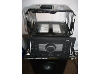 vauxhall combo 2010 cd player with cage/removal keys