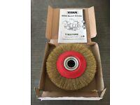 Titan 150mm brush wheel for Grinder New