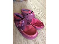 Girls NEW size 12 Hush Puppies Leather Boots