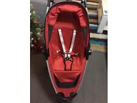 Quinny Zapp buggy with cosy-toes and rain cover