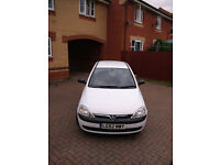 Vauxhall Corsa C Excellent Condition The car has had a lot of things changed low tax and insurance.
