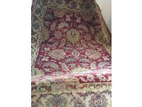 100% wool red Egyptian rug