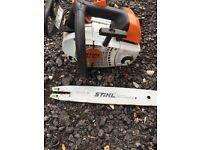 Stihl topping saw