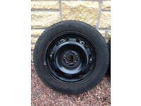 For sale 4 x Skoda / VW / Seat / Volkswagen winter wheels and tyres