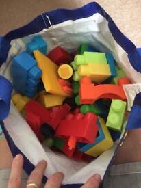 Big bag of building blocks