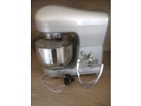 Cooks Professional Food Mixer complete with whisk, beater and large bowl.