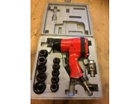 "Air impact Driver 1/2"" and socket set"
