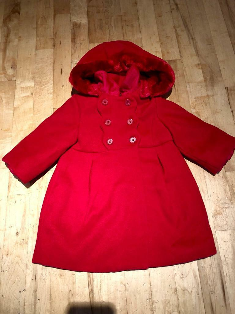 7e35ed7af Baby girls 18months Mayoral and Minnie mouse winter coat | in ...