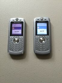 2x Motorola L6 (READ DESCRIPTION)