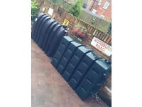 Slimline oil tanks available in different sizes and in excellent condition £50each
