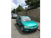 Peugeot 106 Extra Time for sale. Brand new MOT. Great little runner, starts first time.