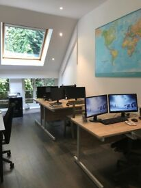 Desk Space to Rent in Putney Bridge