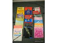 Music books for saxophone trumpet clarinet