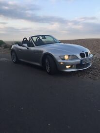 BMW Z3 wide body 2002 For sale .one of the last made in 2002 and a future classic . 1.9i engine