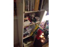 Free White Bookcase