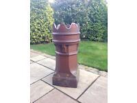 Glazed Chimney Pot