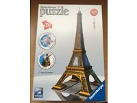 3D Ravensburger Puzzle Eiffel Tower