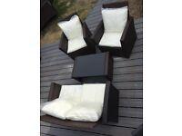 Rattan garden furniture brand new