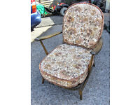 MODEL 203 ERCOL ARMCHAIR.FREE DELI VERY B,MOUTH AND LYMINGTON AREAS