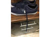 Polo Ralph Lauren shoes. Size 8. Blue