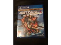 Ps 4 game just cause 3