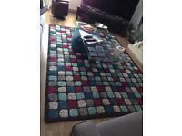 Modern IKEA large rug