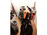 2011 ktm duke 125 cheap bike ride away