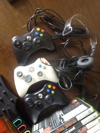 250 gb Xbox 360 slim with games