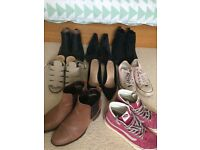 Women's lot of Chelsea Boots Vans Converse Office Carvela 4 5 37 38 Used £50.00