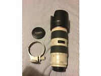 Canon 70-200mm f2.8 L IS Mark 11 Lens - £1000