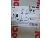 Rookwool insulation 100mm 2.88m2 per pack 600x 1200 (5 packs available)
