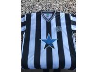 NUFC 1984 football shirt