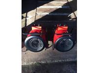Marko industrial space heaters