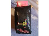 Betsey Johnson brand new clutch/bag/purse