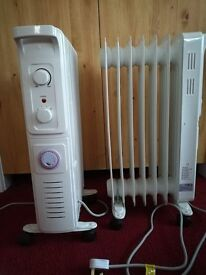 Free standing oil filled radiators x 3. £25 each