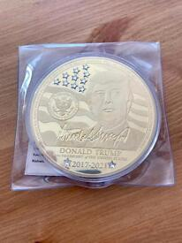 Donald Trump Windsor Mint Commemorative Large Coin