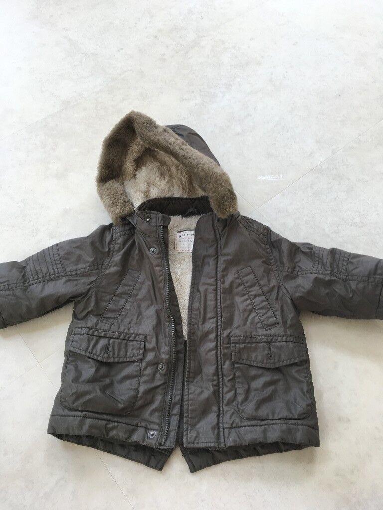 0d442cbbc831 Boys Winter Coat 12-18 months