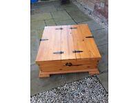 Solid Pine Storage Box