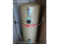 Gledhill Hot Water Cylinder with jacket