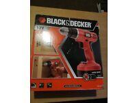 Black & Decker Cordless Drill Driver