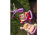 **Bargain Scramble bug , walker & pram**
