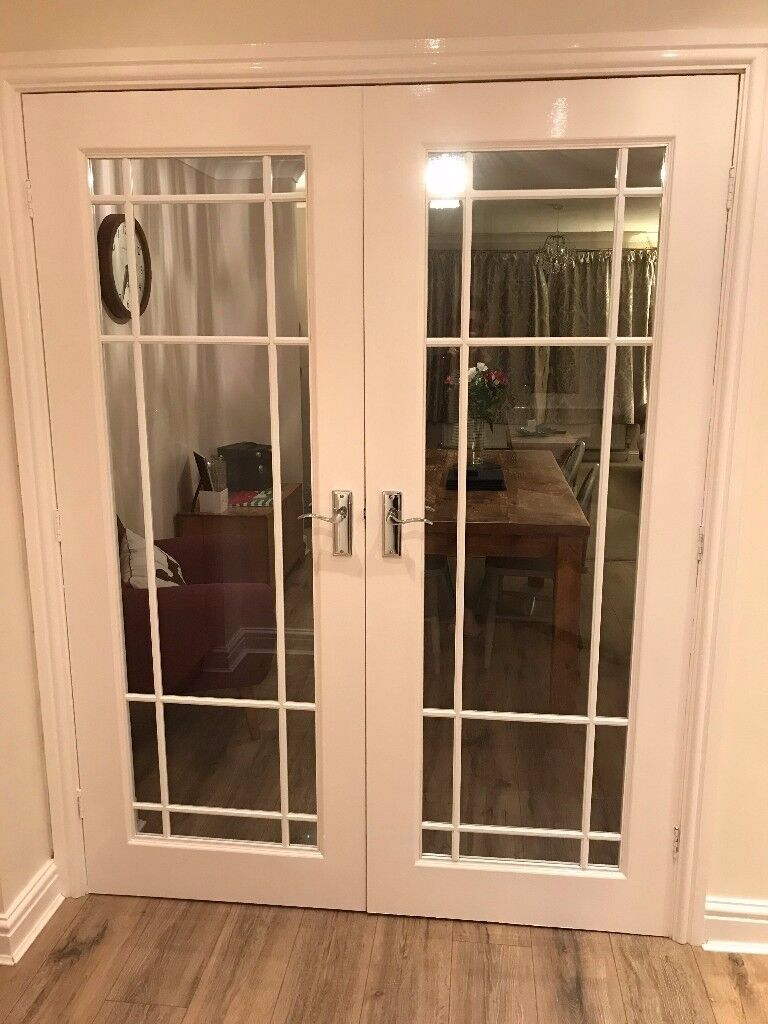 Double Glazed Internal Doors White In Messingham Lincolnshire