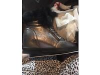 Wedge boots size 8