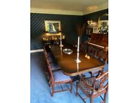 Logan dining table and chairs.