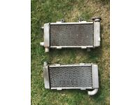 HondaVTR1000F firestorm radiators