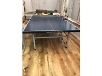 Table tennis indoor, full size, fold away