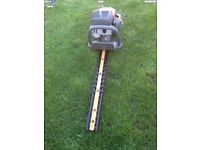 Ryobi Petrol Hedge Cutter with adjustable handle works great can be seen working cb5 £65