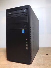 Custom Windows 7 Tower, Intel Core i3 4th 4130 3.4GHz, 8GB, 1TB HDD