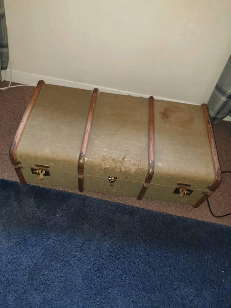 Antique Trunk Case In Summerston Glasgow Gumtree