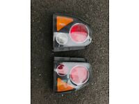Seat Arosa face lifted rear lights